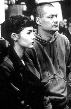 Audrey Tautou and Jean-Pierre Jeunet on the set of 'Amelie'