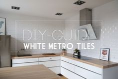 DIY: Metro tiles on the wall | Sonoma Seven | Bloglovin'