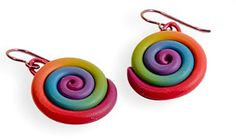 earrings | Polymer Clay Daily