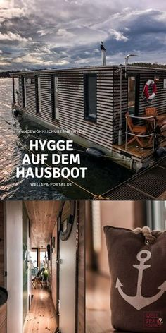 Unusual overnight stays on the houseboat Hygge on vacation - Can you live on a houseboat? How does a houseboat vacation work? What architecture, furnishings and - Honeymoon Night, All Inclusive Honeymoon, Honeymoon Cruise, Hawaii Honeymoon, Romantic Honeymoon, Romantic Travel, Honeymoon Ideas, Hygge, Architecture Résidentielle