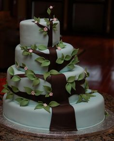 Family Tree Cake....A great cake for a family reunion gathering