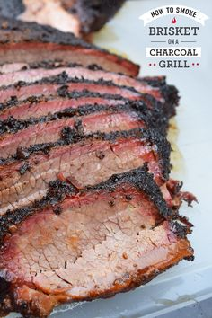 Brisket can be an intimidating and unforgiving cut of beef. Flavorful, dry rubs and bold sauce injections are important, but they can only take you so far. The most important ingredient when it comes to brisket is technique. That's why we got the master, Grilled Brisket, Beef Brisket Recipes, Bbq Brisket, Smoked Beef Brisket, Grilling Recipes, Meat Recipes, Cooking Recipes, Smoker Recipes, Grilling Tips