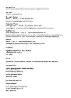 Stocker Resume Sample Graduation Requirements   MDE