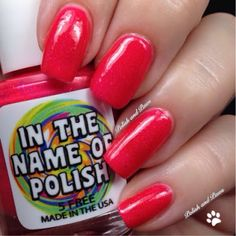 In the Name of Polish ~ Totally Bitchin' Collection Pannnk!