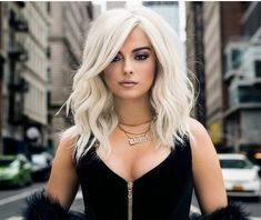 Helth and Beauty Bebe Rexha, Cool Blonde, Blonde Hair, Blonde Waves, Platinum Blonde, Hair Today, Pretty Hairstyles, Hair Goals, My Hair