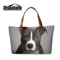 ==> [Free Shipping] Buy Best Dispalang 3D cute animals dog printed totes bag for shopping women's stylish summer beach bags large shopper top-handle hand bag Online with LOWEST Price | 32793753623