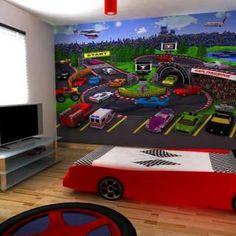 Race Car Kids Bedroom Decor
