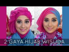 Tutorial Hijab Wisuda | 2 Hijabstyle dengan Hijab Savanna Mecca Glitty | #2 - YouTube