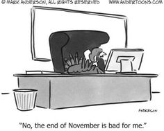 """Thanksgiving Turkey Humor is the Best: """"No, the End of November is Kind of Bad for Me! Thanksgiving Quotes Funny, Thanksgiving Cartoon, Thanksgiving Stuffing, Happy Thanksgiving, Turkey Jokes, Laugh Till You Cry, Business Cartoons, Small Business Trends, Funny Scenes"""