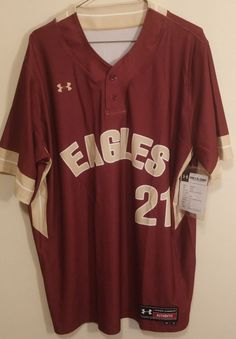 Eagles Baseball Jersey Mens Size 48 Spring 2014 #21 #UnderArmour