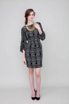 Emilee Dress Ikat