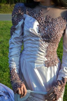 Vintage, Victorian, Ruched, Satin, Once upon a time, Mimosa, Rose, wedding gown,wedding dress, gown, goth, steampunk, train