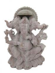 Trimukha Ganapati, Gansha Statues, Hand Carved Ganesha