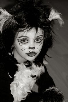 Fasching:: Mister Mistoffelees Halloween Face Makeup, Fictional Characters, Animals