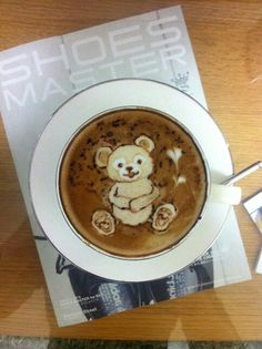 Duffy latte art