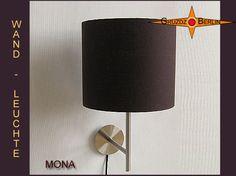 Wandleuchte MONA Ø 25 cm Leinen in Mocca Braun.  Durch die schöne und elegante Farbe, die an dunkle, bittere Schokolade erinnert, schafft die Wandleuchte MONA eine elegante und gemütliche Atmosphäre im Raum.