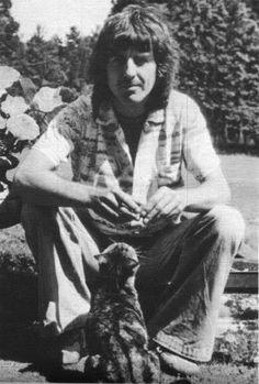 George Harrison and friend