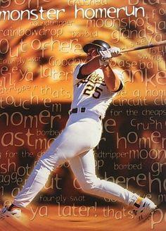 Mark McGwire Monster Homerun The Ch, Big Mac, Oakland Athletics, Swat, Mlb, Athlete, Baseball Cards, Sports, Hs Sports