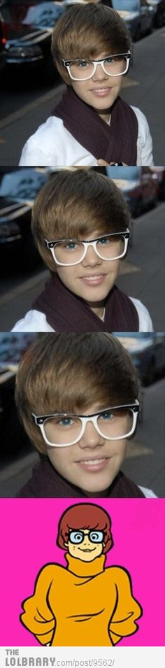 HAHA! i think im the only girl in the world who doesnt like bieber