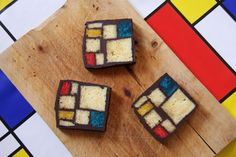 Mondrian Cake - a complicated little project, but for the right event? Totally worth it.