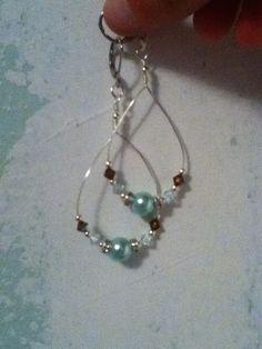DIY earrings #diy #jewelry