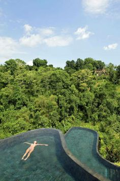 Bali Ubud Hanging Gardens by Orient-Express in Bali, surrounded by rainforest.