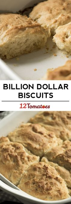 Buttery billion dollar biscuits! So easy to make!