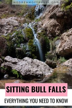 Sitting Bull Falls in New Mexico provides an oasis in the middle of the desert! Discover everything you need to know about visiting these magical waterfalls. #NewMexico #SittingBullFalls Best Travel Guides, Travel Tips, Travel Destinations, Canada Travel, Usa Travel, South America Travel, North America, Usa Places To Visit, Sitting Bull