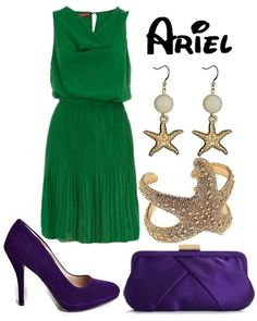 Ariel inspired outfit