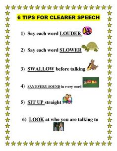 6 Tips For Increasing Speaking Intelligibility - Twin Sister Speech and Language Therapy - - repinned by @PediaStaff – Please Visit ht.ly/63sNt for all our ped therapy, school & special ed pins