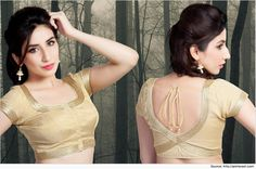 Elegant Designer Blouses for Pattu Sarees | Blouse Designs
