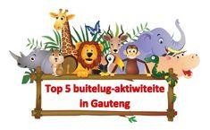 ~ Top 5 Buitelug-Aktiwiteite in Gauteng ~
