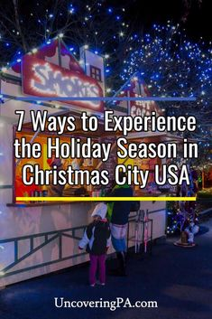Looking for things to do in Bethlehem, PA at Christmas? Check out a few of our favorite holiday activities in Christmas City USA. Christmas Getaways, Christmas Travel, Holiday Travel, Christmas Trips, Winter Getaways, Christmas Vacation, Family Getaways, Family Road Trips, Travel With Kids