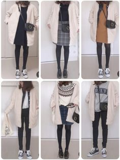 Spring outfits japan, japan outfits, winter outfits for school, winter outf Spring Outfits Japan, Japan Outfits, Winter Outfits For School, Fall Outfits For Work, Cool Outfits, Japan Spring, Japan Fashion, Look Fashion, Korean Fashion