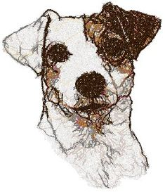 Advanced Embroidery Designs - Jack Russell Terrier (Parson Russell Terrier)