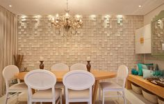 Design Case, Wall Design, 3d Wallpaper Decor, Panneau Mural 3d, Stone Lamp, Decorative Wall Tiles, Dinner Room, 3d Wall Panels, Textured Walls