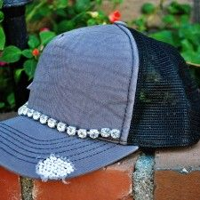 Distressed Trucker Hat from More Than A Hat