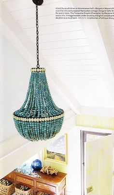 a beaded chandelier for every style lighting pinterest chandeliers lights and beaded chandelier - Turquoise Chandelier Light