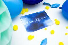 An invitation for a twenty-first birthday.