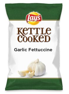 Wouldn't Garlic Fettuccine be yummy as a chip? Lay's Do Us A Flavor is back, and the search is on for the yummiest chip idea. Create one using your favorite flavors from around the country and you could win $1 million! https://www.dousaflavor.com See Rules.