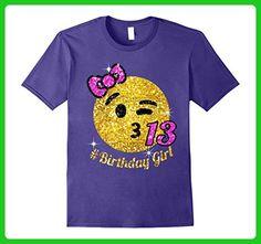 Mens OMG, It's my 13th birthday 2XL Purple - Birthday shirts (*Amazon Partner-Link)