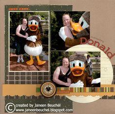 Frontierland Donald - Scrapbook.com