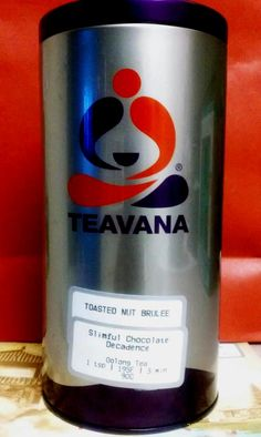 *Toasted Nut Brulee I love and want again bc its done!!! & Desiring to taste Slimful Chocolate Decadence! #Teavana