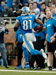 Detroit Lions wide receiver Calvin Johnson breaks NFL receiving yards record. (via USA Today)