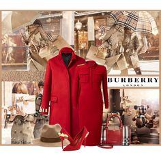"""Burberry"" by nuria-pellisa-salvado on Polyvore"