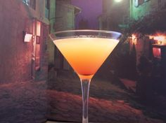 Sunset Martini Recipe (also known as Pineapple Sunset Martini) - so good!