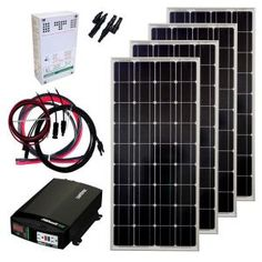 400-Watt Off-Grid Solar Panel Kit-GS-400-KIT at The Home Depot