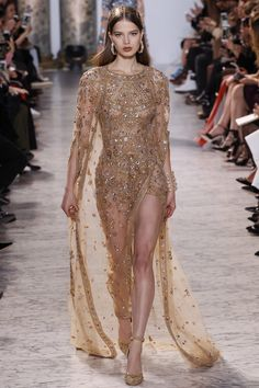 Elie Saab - Spring 2017 Couture Fashion Show Paris Fashion Week PFW Haute Couture