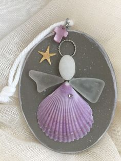 A personal favorite from my Etsy shop https://www.etsy.com/listing/564637007/beachcomber-angel-ornament