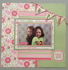 Layout: Friends 4 ever
